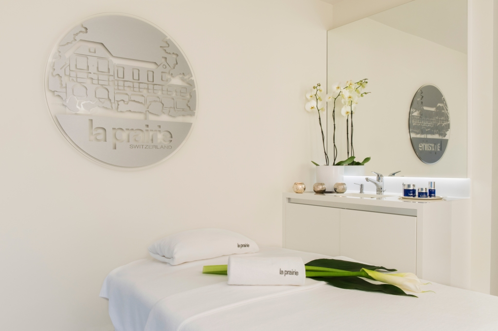 Spa Park Hotel Vitznau with La Prairie products