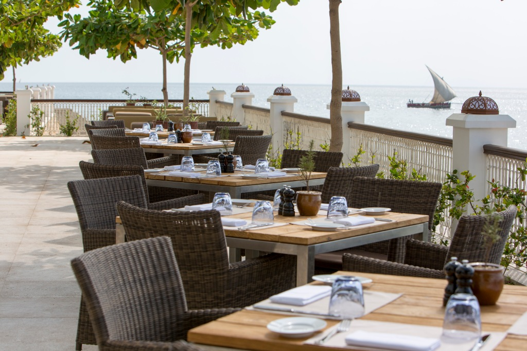 Park Hyatt Zanzibar Dining Room Terrace
