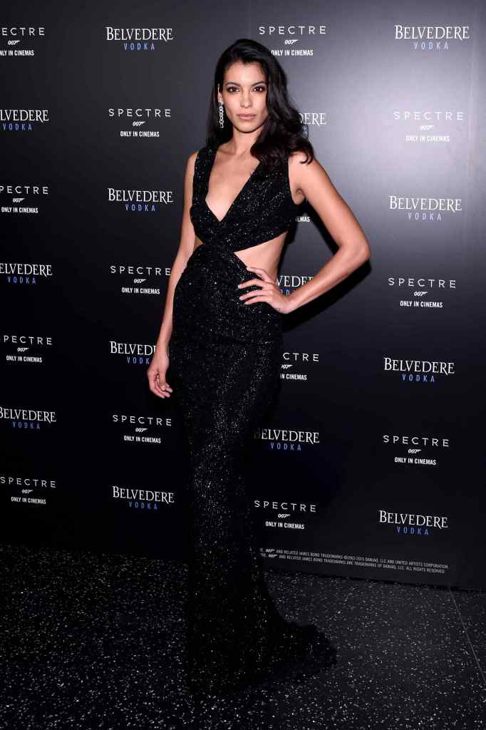 NEW YORK, NY - SEPTEMBER 09: Actress Stephanie Sigman attends Belvedere Vodka Celebrates Partnership with SPECTRE at One World Observatory on September 9, 2015 in New York City.  (Photo by Ilya S. Savenok/Getty Images for Belvedere)