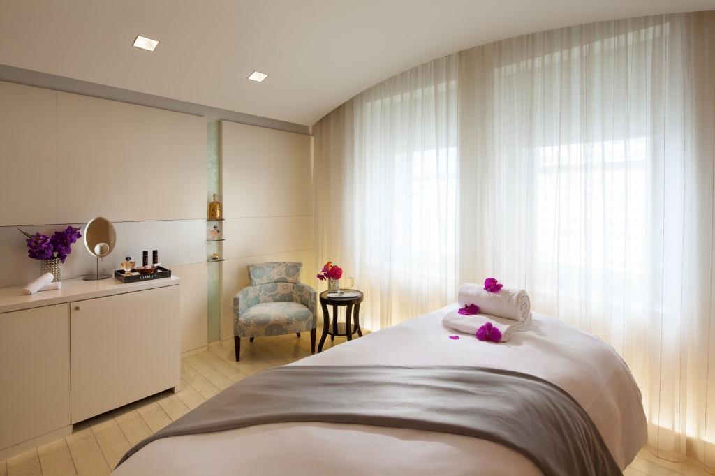 Guerlain Spa Treatment Room