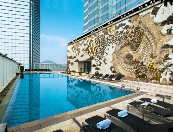 Wet Swimming Pool - Mosaic Wall