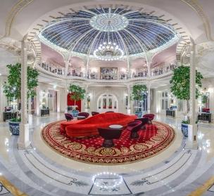 Hôtel Hermitage - Lobby - Jardin d'Hiver - Entrée Groupes